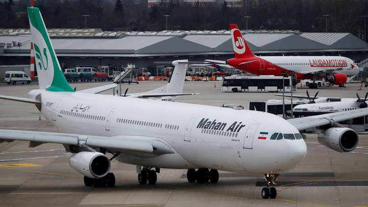 فرنسا تفرض حظرا على شركة طيران إيرانية بسبب سوريا