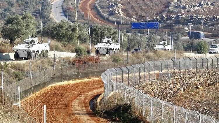 الشريط الحدودي بين لبنان وإسرائيل- أرشيف