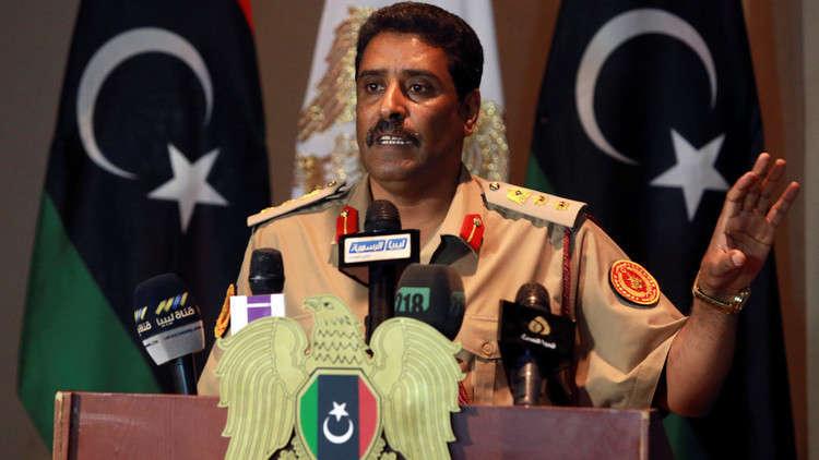 الجيش الليبي يطالب لبنان برد الاعتبار لليبيين في حادث العلم