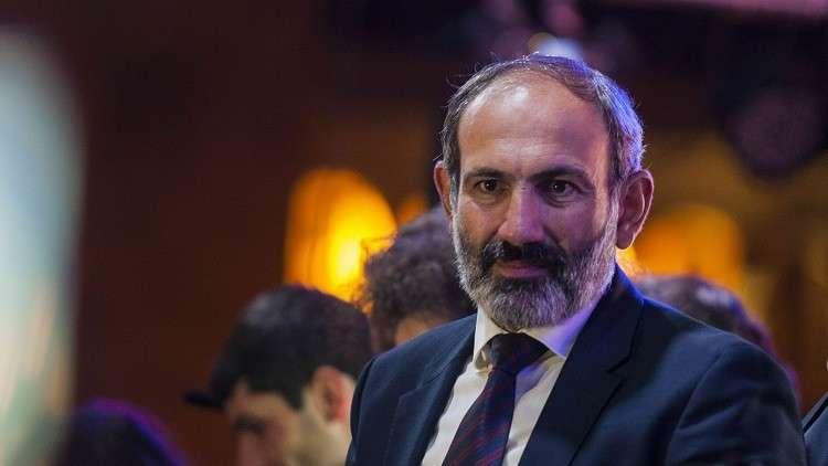 رئيس الوزراء الأرمني نيكول باشينيان