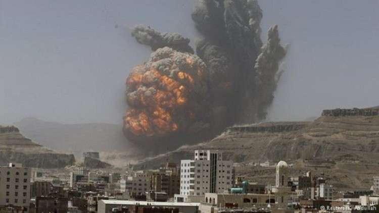 انفجارات عنيفة تهز جنوبي صنعاء (فيديو)