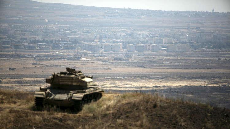 تبادل لإطلاق النار عبر الحدود الإسرائيلية السورية