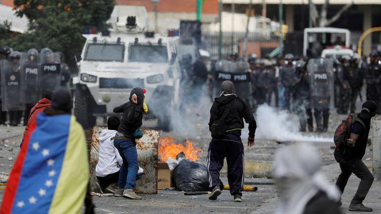 فرنسا تطالب مادورو بعدم قمع المعارضة وتعلن دعمها لرئيس البرلمان الفنزويلي