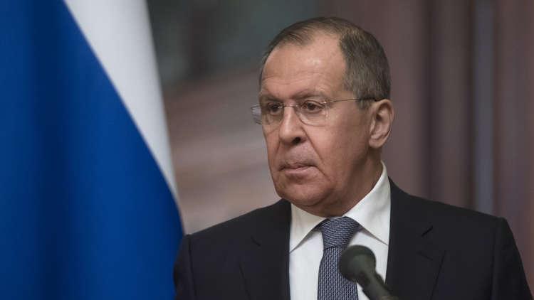 لافروف: على تركيا أن تتفاوض مع الحكومة السورية حول المنطقة الآمنة