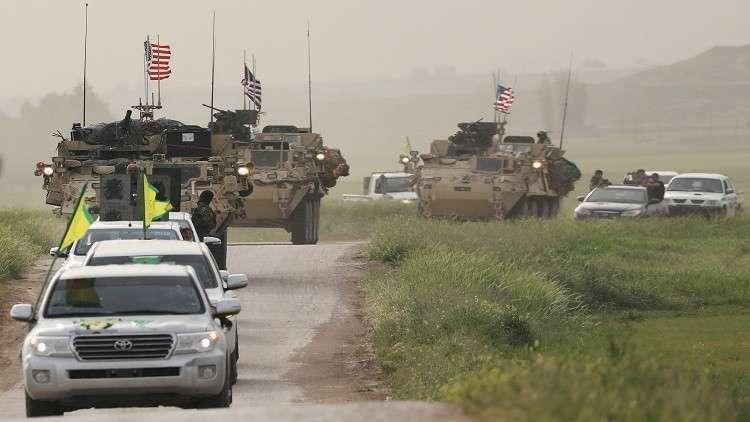 القوات الأمريكية في سوريا (صورة من الارشيف)