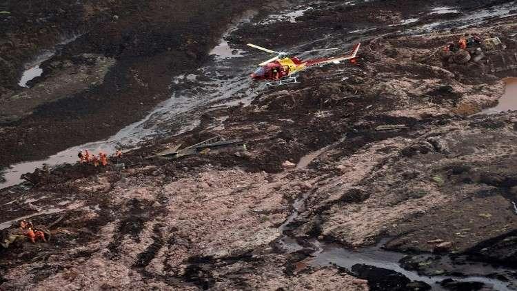 9 قتلى ونحو 300 مفقود إثر انهيار سد في البرازيل