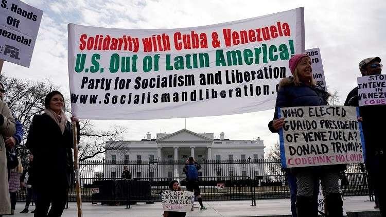 أي تطور للأزمة في فنزويلا هو كابوس للولايات المتحدة الأمريكية