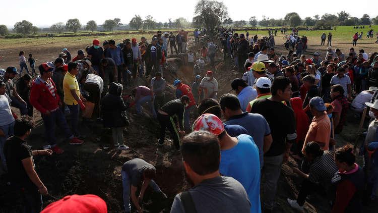 ارتفاع عدد ضحايا انفجار خط أنابيب البنزين في المكسيك إلى 114 قتيلا