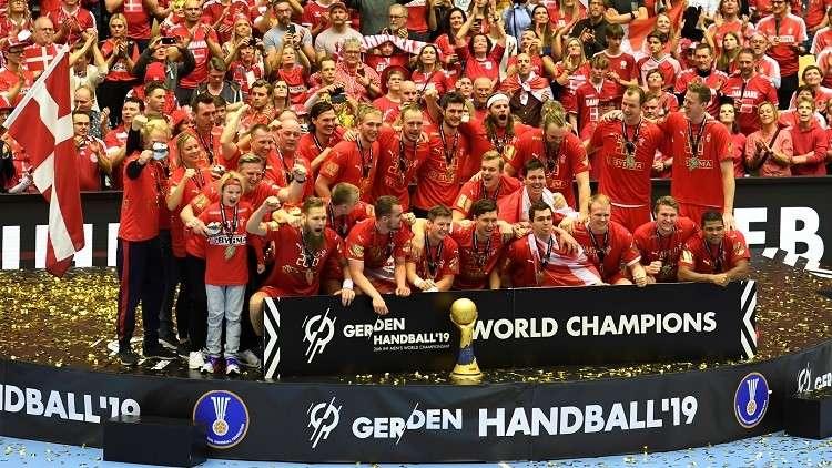 الدنمارك تتوّج ببطولة العالم لكرة اليد لأول مرة في تاريخها (فيديو)