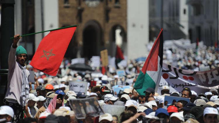 نشطاء مغاربة يحتجون على زيارة محتملة لنتنياهو إلى بلادهم