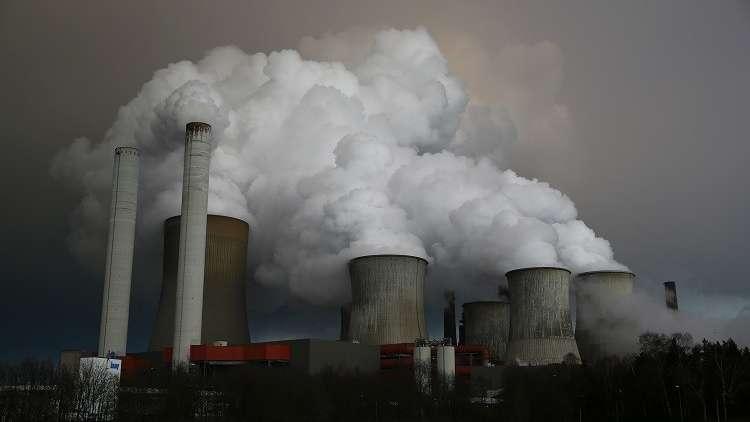 محطة لتوليد الطاقة تابعة لشركة RWE شمال غرب كولونيا، ألمانيا، 3 مارس 2016