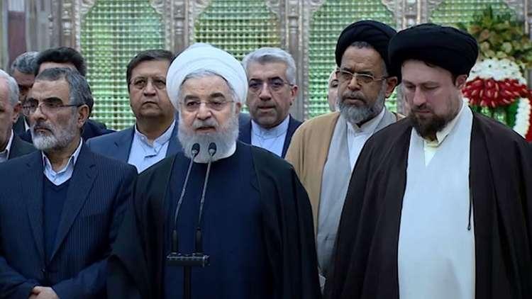 روحاني: البلاد تمر بأكبر ضغط اقتصادي منذ 40 عاما بسبب العقوبات الأمريكية
