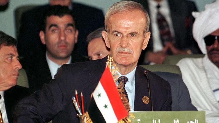 الرئيس السوري السابق، حافظ الأسد