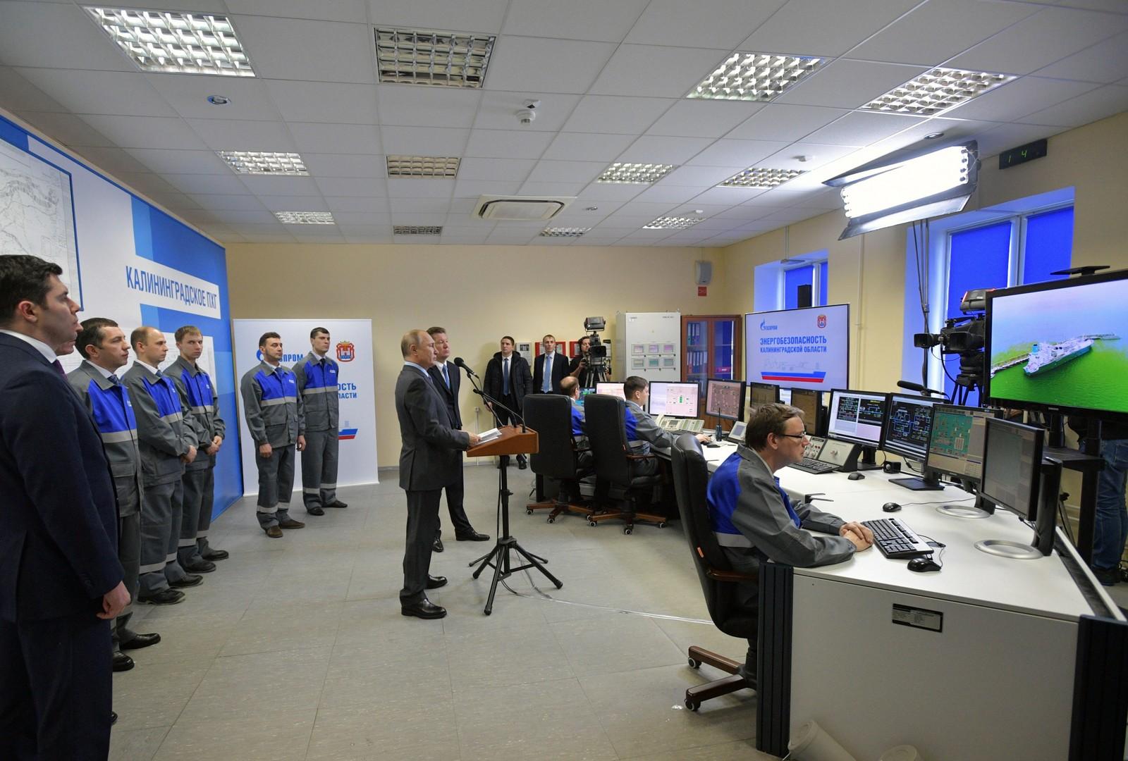 بوتين يعلن استقلال مقاطعة كالينيغراد عن دول الجوار في مجال الطاقة