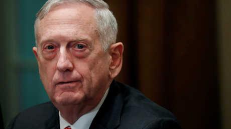 وزير الدفاع الأمريكي السابق جون ماتيس