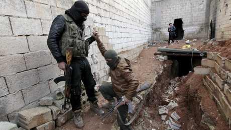 أفراد في المعارضة المسلحة السورية - أرشيف