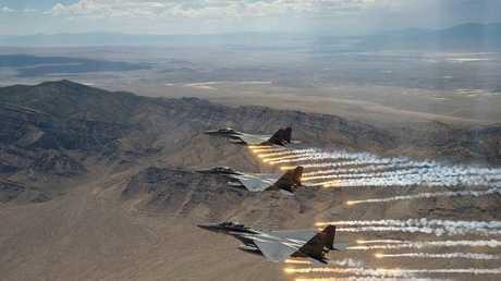 طائرات التحالف الدولي - أرشيف