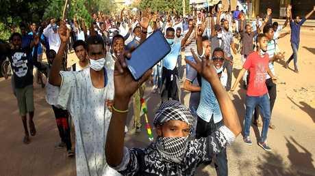 الاحتجاجات في العاصمة السودانية الخرطوم
