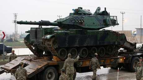 دبابة تابعة للجيش التركي - أرشيف