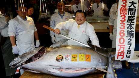 كيوشي كميورا  صاحب سلسلة مطاعم سوشي في اليابان