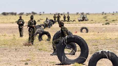جنود تابعون لجبهة البوليساريو -أرشيف
