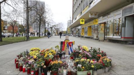 مكان مقتل المواطن الألماني دانيال هيليغ على يد مهاجر سوري في مدينة كيمنتس الألمانية