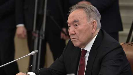 الرئيس الكازاخستاني نور سلطان نزاربايف