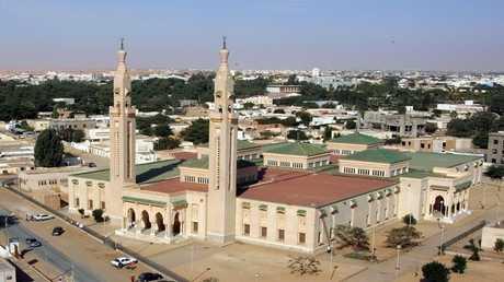 المسجد الكبير في العاصمة الموريتانية نواكشوط - أرشيف