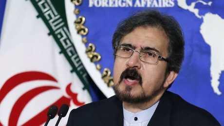 المتحدث باسم الخارجية الإيرانية، بهرام قاسمي