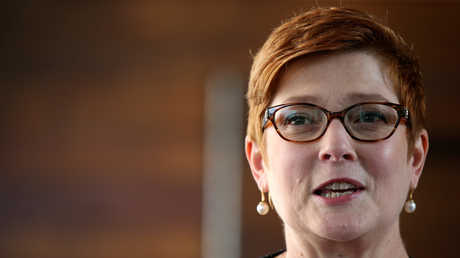 وزيرة خارجية أستراليا، ماريس بين