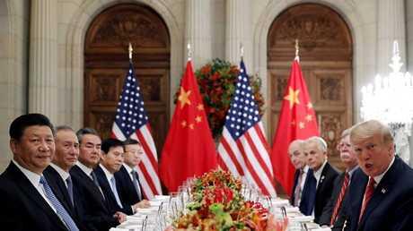 المفاوضات الأمريكية - الصينية حول التجارة (صورة من الأرشيف)