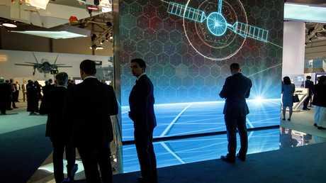 جناح شركة BAE Systems في معرض فارنبوره للطيران