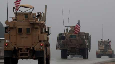 قوات أمريكية في سوريا (صورة من الأرشيف)