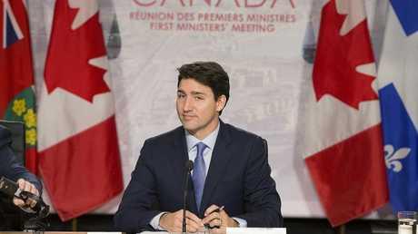 رئيس الوزراء الكندي جاستين ترودو