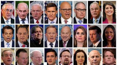 موظفون سابقون في إدارة ترامب