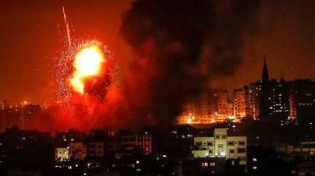 غارة إسرائيلية على غزة - صورة أرشيفية