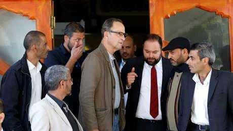 الجنرال الهولندي المتقاعد  باتريك كاميرت في صنعاء