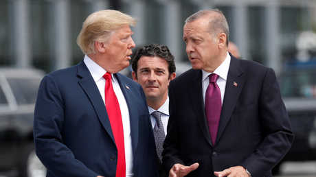 دونالد ترامب ورجب طيب أردوغان