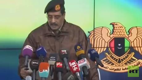 عملية للجيش الليبي ضد