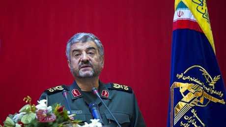 أرشيف - قائد الحرس الثوري الإيراني محمد علي جعفري