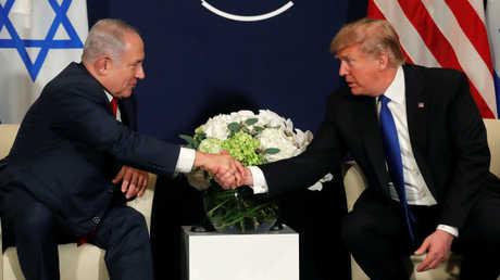 لقاء بين دونالد ترامب وبنيامين نتنياهو