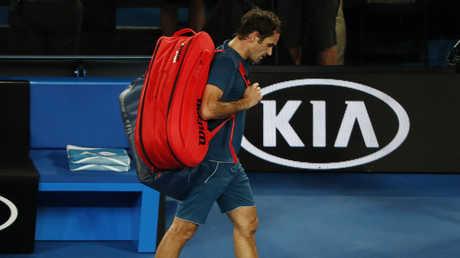 فيدرر يودع أستراليا المفتوحة أمام أصغر لاعب في البطولة