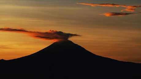 بركان بوبوكاتبتبيل في المكسيك - صورة أرشيفية