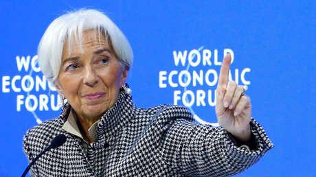 مديرة صندوق النقد الدولي، كريستين لاغارد