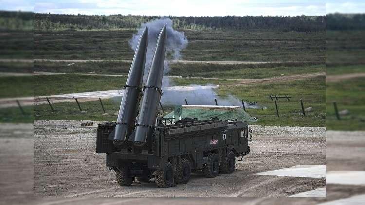 إنذار يدخل صواريخ إسكندر في وضعية القتال