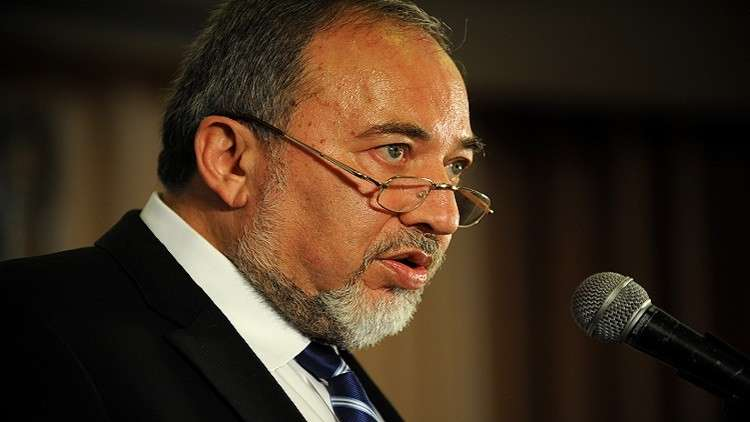 وزير الدفاع الإسرائيلي السابق أفيغدور ليبرمان
