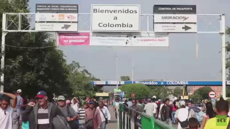 رحلة فنزويليين لكولومبيا طلبا للمساعدات
