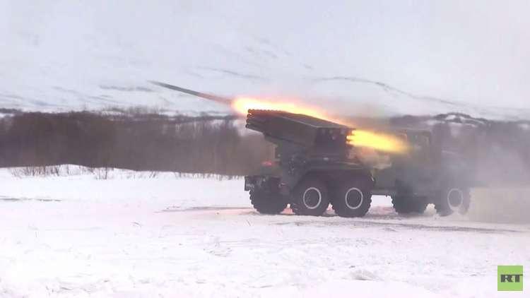 فيديو من كامتشاتكا.. راجمات الصواريخ