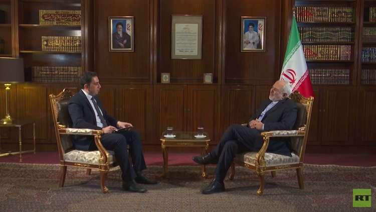 لقاء خاص لـ RT مع وزير الخارجية الإيراني محمد جواد ظريف