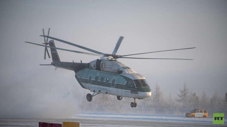 قدرات عالية على الطيران في البرد القارس لمروحية مي 38